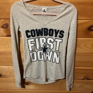 VS Pink Cowboys Long Sleeve